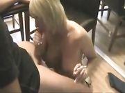 Excelente sexo con una rubia madura
